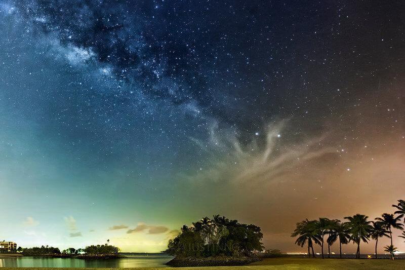 como fotgrafar o ceu a noite