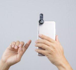 Lente Olho de Peixe Para Smartphone
