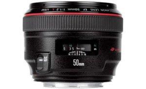 Lens Test Canon EF 50mm f 1.2L USM AF