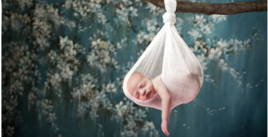 como fotografar bebes