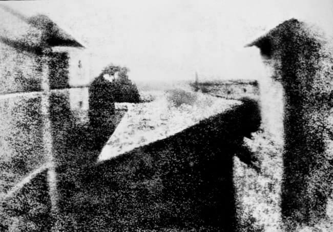 primeira fotografia do mundo