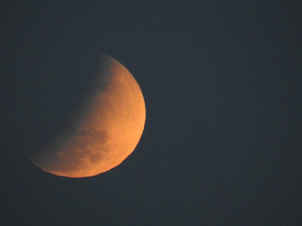 Fotos do Eclipse parcial da Lua no Brasil e pelo mundo - 16/07/2019